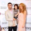 Cristea, alături de Denisa Nechifor şi copilul lor. // Foto: stl.ro