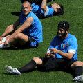 Chivu şi Sneijder se înţeleg foarte bine la antrenamente