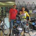 În atelierul din Spania unde și-a reparat bicicleta