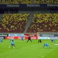 16 octombrie 2012. Arena Națională. Trupa lui Van Gaal a fost înghițită de noul stadion de top al României