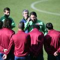 Paulo Sergio le-a prezentat jucătorilor strategia pentru meciul cu Galata.