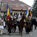 La Sf. Gheorghe, românii au serbat Ziua Națională în costume populare și călare pe cai superbi