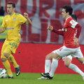 În 15 apariții în tricoul Vasluiului, Varga a înscris 2 goluri