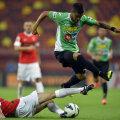 """Bastos a strălucit în meciurile cu Braga (2-0, 3-1). În Portugalia, brazilianul a reușit o """"dublă"""" // Foto: Vakarcs Lorand"""