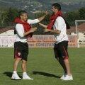Torje şi Ropotan, pe vremea cînd erau colegi la Dinamo