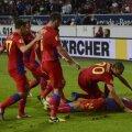 Steaua are cele mai multe goluri marcate în Liga 1, 46!