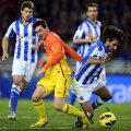 Nici Messi (stînga) n-a mai salvat Barca, deşi a marcat al 29-lea gol din acest campionat // Foto: Reuters