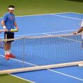 Nordicii au testat terenurile de tenis de la Cluj.