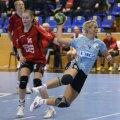Ionela Stanca a marcat de două ori în partida contra Zalăului Foto: Marius Ionescu