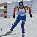 Dorottya Buzas schiind pe ultima porţiune a cursei de ieri Foto: Pascal Pamfil (NOC)