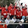 Elvețienii au făcut ieri show în tribune în ultima zi de întreceri la FOTE // Foto: Raed Krishan