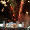 Ceremonia de închidere de vineri seară s-a încheiat cu un foc de artificii // FOTO Bogdan Bălaş