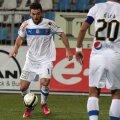 Chiţu (în alb) a marcat ieri al patrulea său gol în acest sezon // Foto: Sorin Danielciuc (Telegraf-Constanţa)