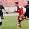 Daniel Novac (stînga) a fost introdus în teren deşi nu s-a antrenat timp de patru luni // Foto: Ştefan Constantin