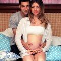 Paul și Ana în așteptarea primului lor copil // Foto: Arhivă personală