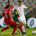 Hamit Altintop (stînga) nu l-a putut oprit pe maghiarul Szalai în octombrie 2012. A fost 3-1 pentru Ungaria la Budapesta // Foto: Reuters