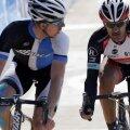 Sep Vanmarcke și Fabian Cancellara (foto: reuters)