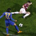 Meciurile cu Steaua au fost întotdeauna speciale pentru Săpunaru (stînga)