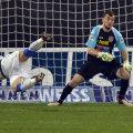 Aflat în ofsaid, Matulevicius l-a păcălit pe Felguieras la primul gol al gorjenilor