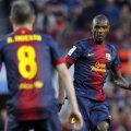Abidal, numărul 22 de la Barca, poate fi jokerul blaugrana în acest final de sezon // Foto: Reuters