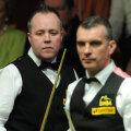 John Higgins și Mark Davis, foto: sportinglife.com