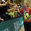 Jakob Vestergaard şi-a luat ieri adio de la suporterii vîlceni // Foto: Marius Ionescu (Rm. Vîlcea)