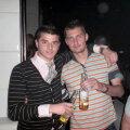 Imagine de arhivă: Tamaș se simte foarte destins în ipostazele nocturne din cluburile României
