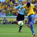 Încă o lecţie de fotbal de la Neymar, MVP şi cu Japonia (3-0), şi cu Mexic // Foto: Guliver/GettyImages