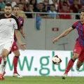 Kostovski a avut o evoluţie ştearsă în partida cu Steaua, de la Bucureşti, 3-0