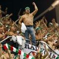Suporterii Legiei pot urmări meciul de la una dintre cele două tribune ale stadionului