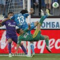 Gigel Bucur a reușit al doilea gol în acest sezon la Kuban, după primul marcat cu Zenit acum o lună