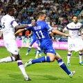 Keșeru a jucat 230 de minute în acest campionat, Bastia titularizîndu-l doar acasă. Cu Toulouse l-a aplaudat tot stadionul la înlocuirea din final // Foto: Mediafax/AFP