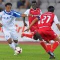 La debutul european al clubului din Tîrgu Jiu, alb-albaștrii lui Pustai au obținut o performanță formidabilă, eliminînd Levadia Tallinn (0-0 și 4-0), Hapoel Tel Aviv (1-1 și 2-1) și Braga (0-1 și 2-0)