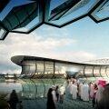 """Lusail City Stadium (86.250 locuri), """"inima"""" proiectului qatariot de miliarde. Aici s-ar juca finala CM 2022"""