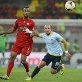 Thomas n-a mai jucat de la derby-ul cu Steaua, 1-2, de pe 11 august