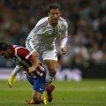 Cristiano (în alb), într-un derby al suferinţei pierdut de Real, 0-1 cu Atletico // Foto: Reuters