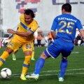 Teixeira (dreapta) a contribuit decisiv la victoria prahovenilor // Foto: Ionuț Tabultoc (Botoșani)