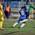 Aceasta este faza penalty-ului obținut de Goge în contactul cu Albuț // Foto: Ștefan Constantin