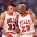 Jordan şi Pippen, în perioada în care făceau echipă bună la Chicago Bulls