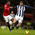 """În 2012, Tamaş era la WBA şi juca pe """"Old Trafford"""" cu Man. United. În 2014, e la Doncaster // Foto: Reuters"""