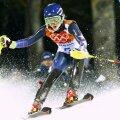 Americanca Mikaela Shiffrin a dominat clar proba de slalom