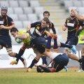 Ionuţ Dumitru a reuşit două eseuri în meciul cu Spania
