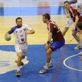 Marius Stavrositu a fost responsabilul cu showul în meciul cu Vasluiul // Foto: Gabriel Tănasă