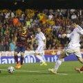 Bale e al șaptelea britanic care marchează într-un Clasico, reușind aseară al 20-lea gol pentru Real în acest sezon // Foto: Reuters