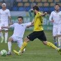 Grigorie a marcat de trei ori în această primăvară, ajungînd la cota 55 în Liga 1 // Foto: Bogdan Bălaș (Brașov)