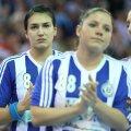 Cristina Neagu avea lacrimi în ochi la finalul meciului cu Gyor // Foto: Marius Ionescu