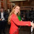 Votul campioanei olimpice la judo, Alina Dumitru, valorează un punct // Foto: Pamfil Pascal