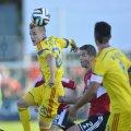 """Sîmbăta trecută, """"tricolorii"""" au învins, greu, Albania, 1-0, cu un gol al lui Raț pe final"""