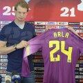 Arlauskis a semnat pe un an cu Steaua cu opţiune de prelungire pe încă un an // Foto: Alex Nicodim
