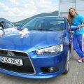 Camilla Herrem e mîndră de noua sa maşină